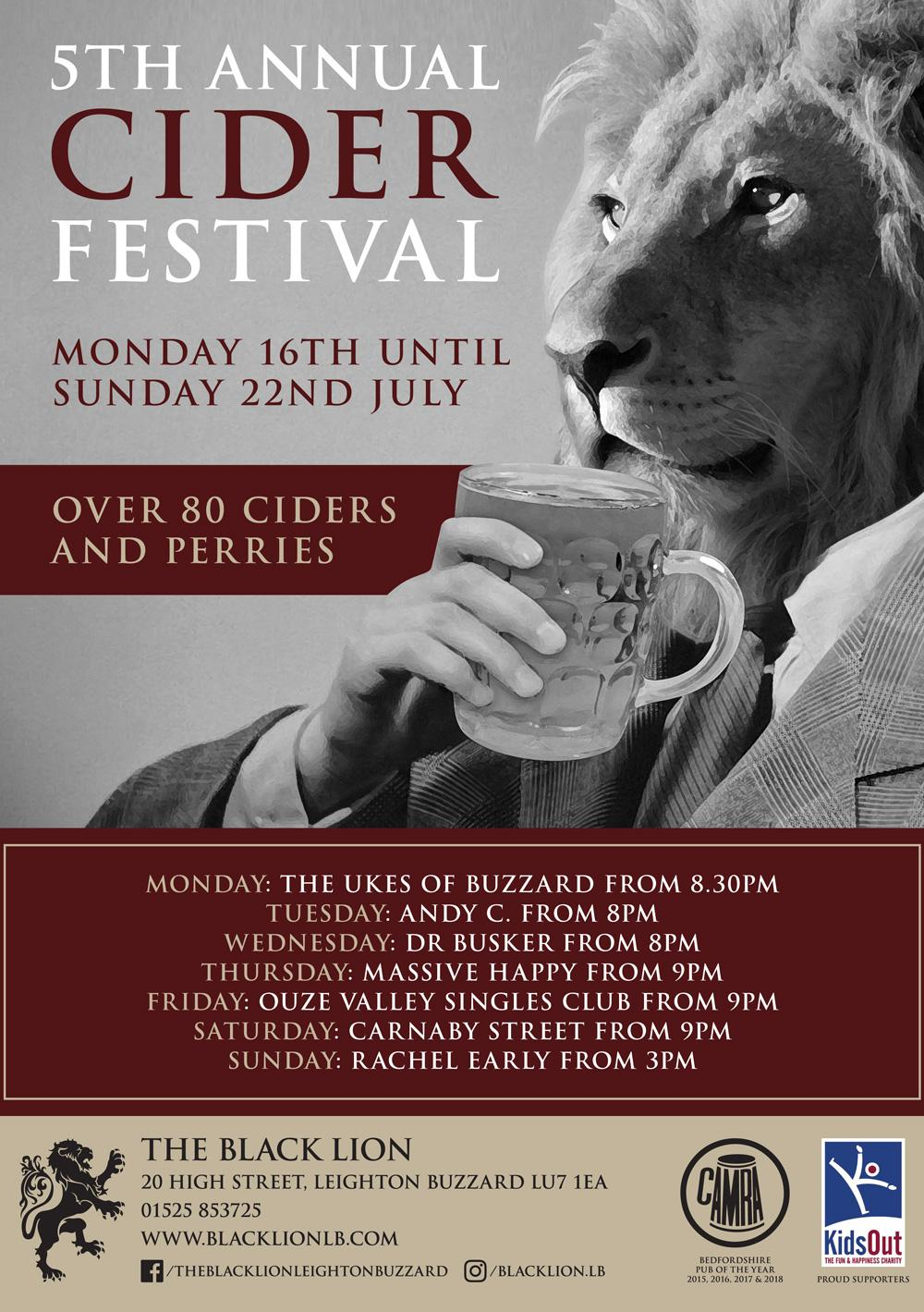 5th Annual Cider Fesitval